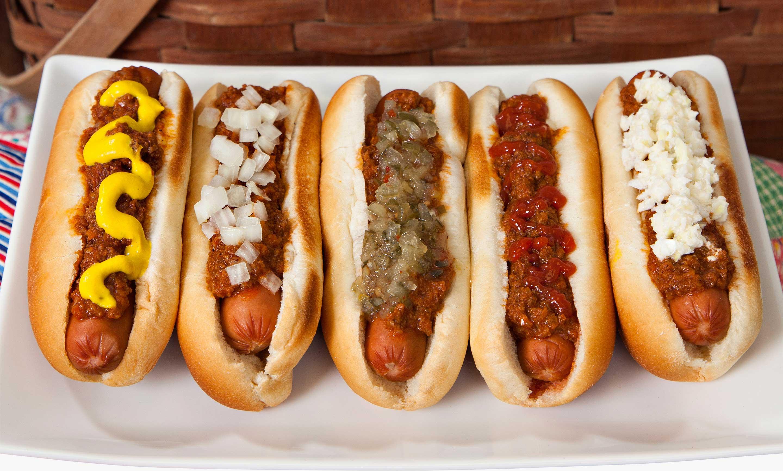 Custard Stand Chili Hot Dogs