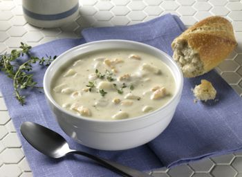 Blount New England clam chowder