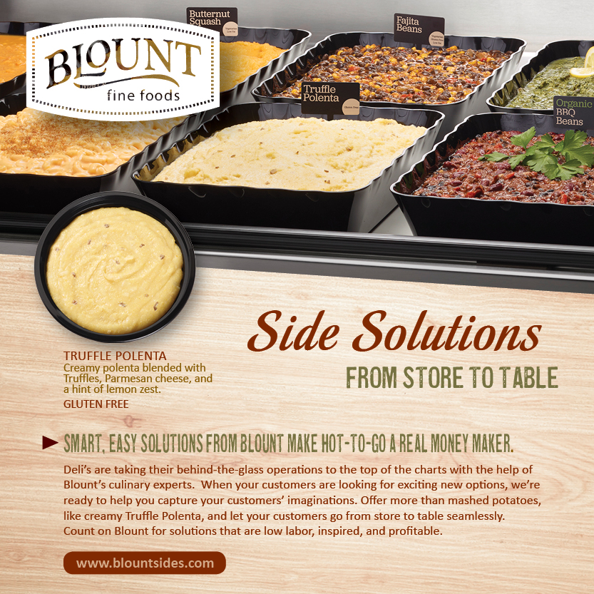 Side Solutions From Store to Table