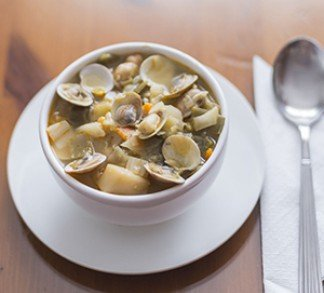 Rhode Island Clear Clam Chowder