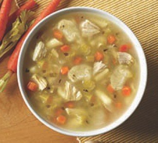 Chicken Dumpling Soup (ABF)
