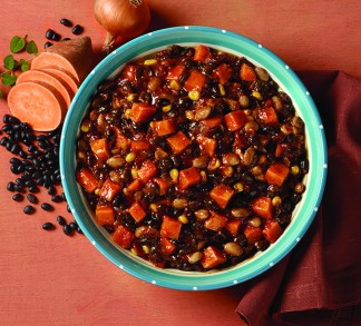 Black Beans & Sweet Potatoes