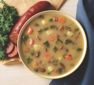 Kale Soup With Chourico